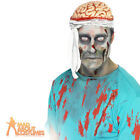 Adult Zombie Doctor Bandage Brain Hat One Size Halloween Fancy Dress Accessory