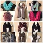 FASHION SCARVES NWT FALL COLORS INFINITY & OBLONG FREE SHIPPING MANY TO CHOOSE $6.36 AUD