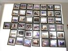 "VINTAGE GLASS SLIDES, LOT OF 43, 2"" X 2"", VARIETY OF SCENES"