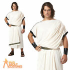 Adult Deluxe Classic Toga Costume Mens Roman Greek Ceasar Fancy Dress Outfit New