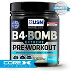 USN B4 Bomb Extreme Pre-Workout (300g) - FAST FREE DELIVERY