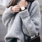 Casual Loose Womens Long Sleeve Tops Sweater Fashion Womens Knitwear Pullover