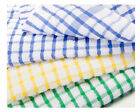 Tea Towels 100% Cotton Kitchen Dish Cloths Cleaning Drying Multi Pack 3, 6, 9,12