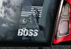 Bruce Springsteen - Car Window Sticker - THE BOSS Decal Laptop Music Sign - v01