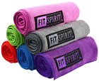 "Внешний вид - Fit Spirit Super Absorbent 15"" x 24"" Microfiber Non Slip Yoga Towels, 2pc"