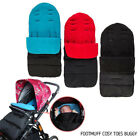 DELUXE BABY BUGGY PRAM UNIVERSAL FOOT MUFF COSY TOES STROLLER APRON LINER TOOL