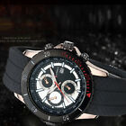 CURREN New Men's Stainless Steel Date Display Waterproof Luxury Wrist Watch image