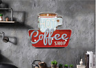 Hot Coffee Shop LED Neon Signs Wall Hanging Sign