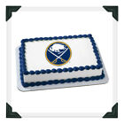 BUFFALO SABRES NHL Edible Image Cake Topper Photo Icing Frosting Sheet $8.5 USD on eBay