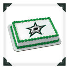 DALLAS STARS NHL Edible Image Cake Topper Photo Icing Frosting Sheet $8.5 USD on eBay