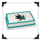 San Jose Sharks NHL Edible Image Cake Topper Photo Icing Frosting Sheet on eBay