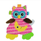Newborn Baby Bed Hanging Plush Rattle Teether Ring Paper Handkerchief Toys Doll