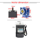 1PCS AC220V 60W 5M60GN-RV40-2 Worm Gear Reducer Motor Self-Locking with Governor