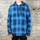 Insight Over It Hoodie Hooded Sweatshirt Brand New - Size: L - Blue