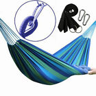 Cotton Rope Hanging Hammock Sw...