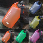 2 30L Waterproof Backpack Dry Bag Pouch Boating Kayaking Sports Camping Hiking A
