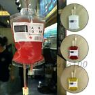 Reusable Blood Bags Halloween Party Haunted House Drink Container Decoration