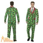 Mens Holly Berry Stand Out Suit Christmas Fancy Dress Funny Adult Xmas Outfit