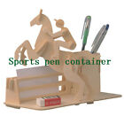Children and adults 3d wooden puzzle toys for kids - Sports pen container