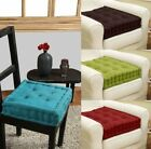 CHAIR GARDEN ARMCHAIR SOFT SEAT BOOSTER THICK CUSHION PADS ADULTS MULTI PACKS