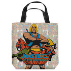 MASTERS OF THE UNIVERSE HEROES LICENSED LIGHTWEIGHT TOTE BAG 2 SIDED PRINT