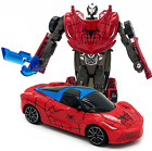 Transformers Action Figure Kids Toys Robot Spiderman Avengers Vehicle Iron Man