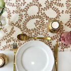 Rose Gold Floral Sequin Table Runner - Ready to ship from the UK