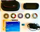 Sony PSP-3001 3000 / 5 Games / CarryCase / 2GB Memory Stick / Charger / Game Box