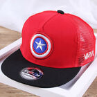 Boys Girls Kids Cartoon Sunhat Spiderman Iron Man Avengers Cosplay Baseball Hat
