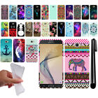 For Samsung Galaxy On7/ On Nxt/ G610 Art Design TPU SILICONE Case Cover + Pen