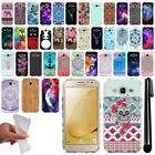 For Samsung Galaxy J2 2016 J210 2nd Gen Design TPU SILICONE Case Cover + Pen