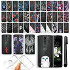For LG K7 Tribute 5 LS675 MS330/ M1 Ultra Thin Clear Soft TPU Case Cover + Pen
