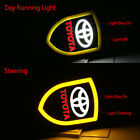 2x CAR DRL LED TURN SIGNAL DAY RUNNING LIGHT SEQUENTIAL SWITCHBACK for TOYOTA