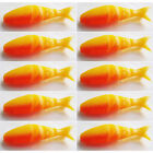 Soft Plastic Baits Multi Jointed Red Blue Soft Bait Fishing Lure 5cm 10 Pcs  BH
