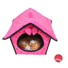 Puppy Pet Teddy Bear Chihuah Bed Cushion House Pet Soft Warm Cat Dog Kennel