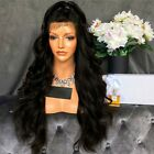 Fashion Sexy Women Long Wavy Lace Front Free Part Synthetic Wig