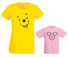 WINNIE the Pooh & Piglet  Ladies & Kid's T Shirts Ideal Christmas present Gift