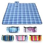 Extra Large Folding Picnic Blanket Family Camping Mat Waterproof outdoor Rug NEW