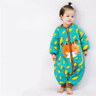 Cute baby cartoon sleeping bag winter strollers bed swaddle blanket wrap bedding