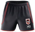 St George Dragons 2018 Training Shorts Sizes S - 5XL XBlades NRL In Stock Now!!