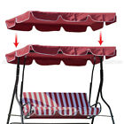 """Swing Top Seat Cover Canopy Replacement Porch Patio Outdoor 66x45 75x52"""" 77""""x43"""""""