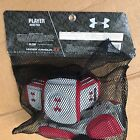 Under Armour Player Arm Pad   Red White SIZE MD  LG
