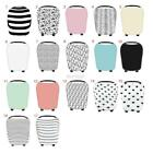 US Stretchy Multi-Use Car Seat Canopy Nursing Cover + Infant Baby Carry Case