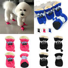 Clothing Shoes - US STOCK 4Pcs Dog Pet Rain Boots Waterproof Protective Boots Shoes Anti-Slip