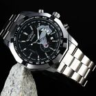 WINNER Men's Automatic Mechanical Analog Stainless Steel Date Band Wrist Watch image