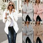 womens long winter coats - US STOCK Women's Long Oversized Loose Knitted Sweater Cardigan Outwear Coat New
