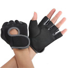 Outdoor Sports Cycling Bike Bicycle Half Finger Fingerless Gel Short Gloves USWC