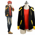 New Hot MYSTIC MESSENGER 707 Luciel Choi Saeyoung Cosplay hoodie Costume + Wigs