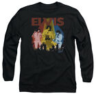 Elvis Presley VEGAS REMEMBERED Licensed Adult Long Sleeve T-Shirt S-3XL