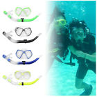 Adult&Child Diving Scuba Anti-Fog Goggles Mask & Snorkel Set Swimming Equipment